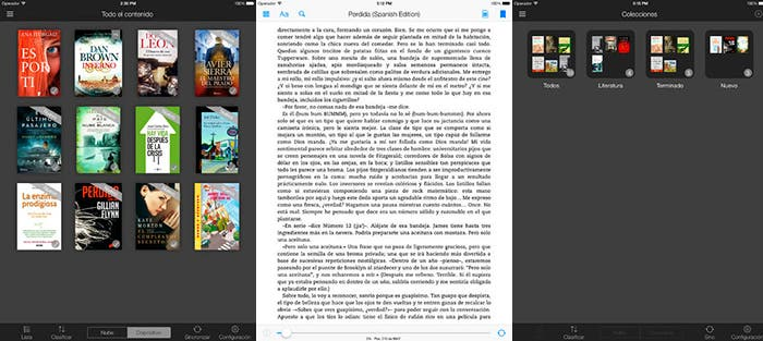 Kindle de Amazon para iPad