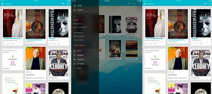 Lee en el iPad con Kobo Books