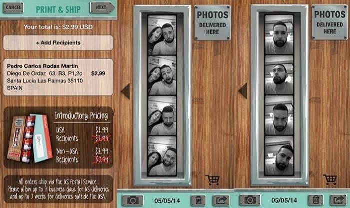 Fotografías sacadas con Pocketbooth