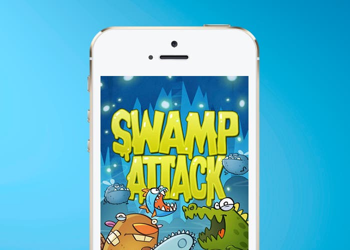 Swamp Attack en iPhone 5s