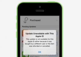 Problemas para descargar aplicaciones y actualizaciones en la App Store