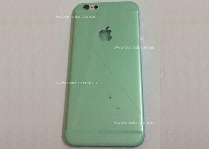 Nueva filtración de una posible carcasa del iPhone 6