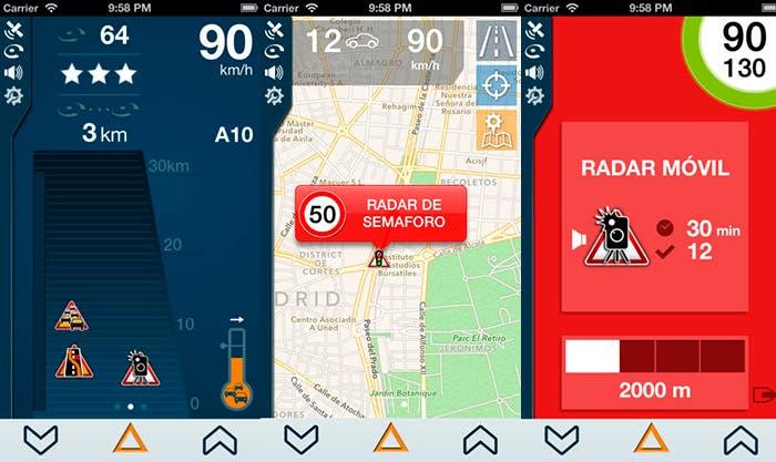 Descubre los radares cercanos con iCoyote