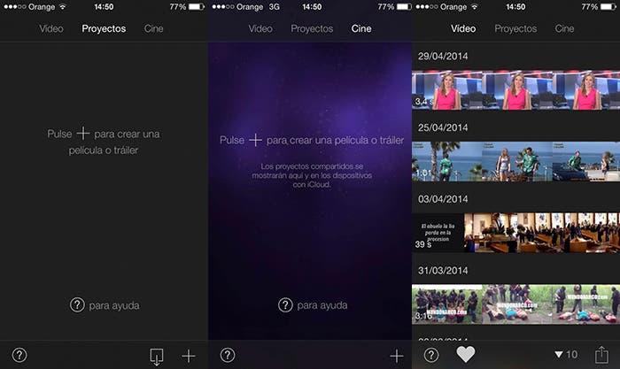 iMovie, aplicación nativa de Apple para la edición de vídeo