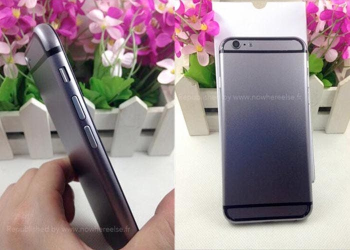 Trasera y lateral del iPhone 6