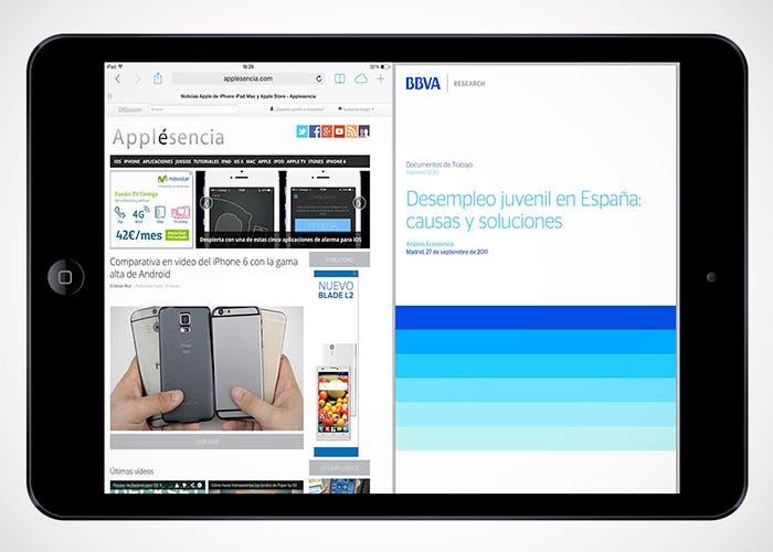 Multitarea avanzada en iOS 8