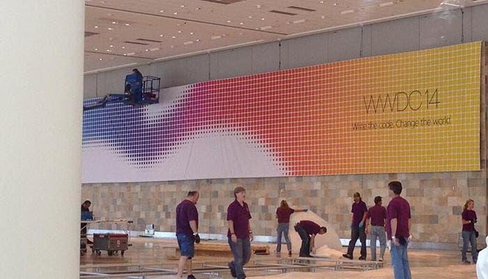 El Moscone Center ya tiene los primeros carteles de la WWDC 2014