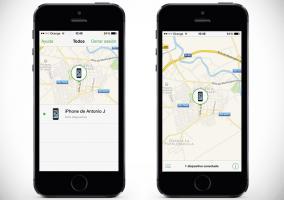 Buscar mi iPhone en iPhone 5s