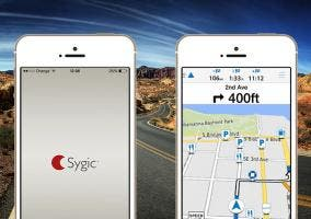 Garmin víago y Sygic en iPhone 5s