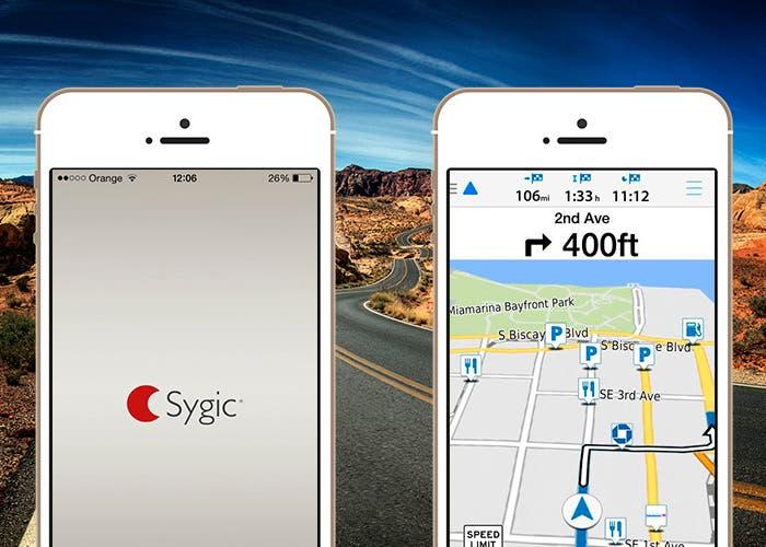 Garmin víago y Sygic en iPhone 5s