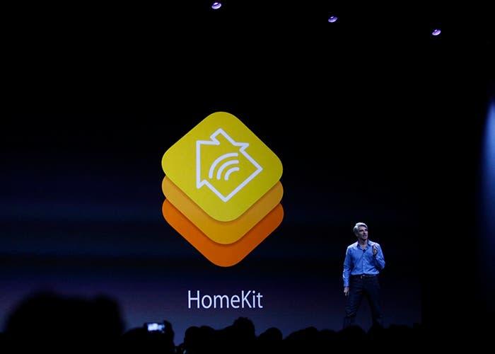 Apple presentando Homekit