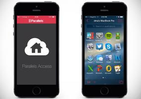 Parallels Access en iPhone 5s