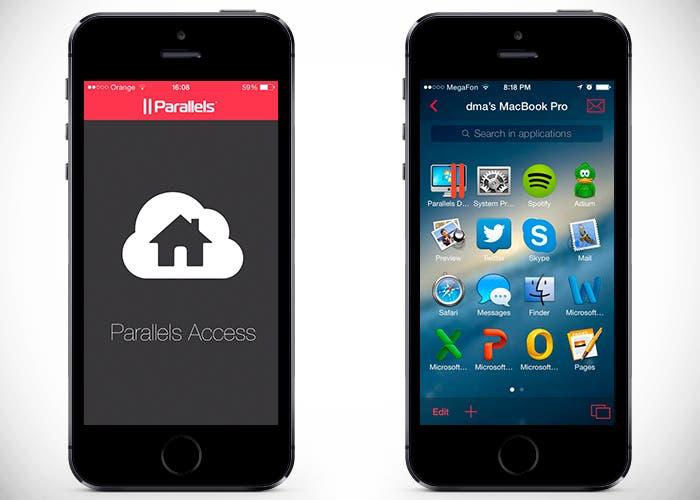 Aplicacion De Escritorio Remoto Parallels Access Para Iphone