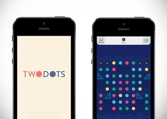 TwoDots en iPhone 5s