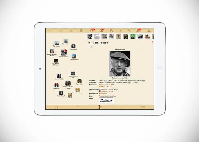 WikiLinks en iPad Air