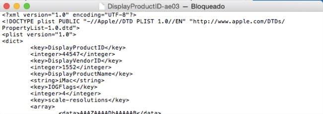 Evidencias de iMac con pantalla Retina