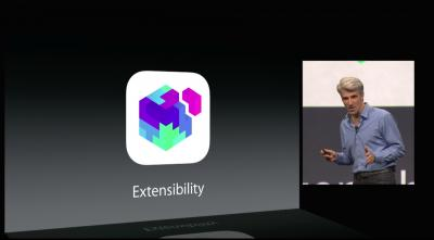 Extensibility Apple WWDC 2014