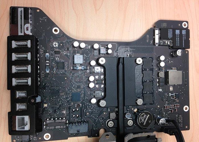 Placa base del nuevo iMac