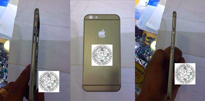 iPhone 6 filtrado en metal