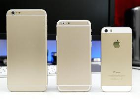 Comparativa de tamaños de iPhone