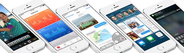 iOS 8 5s