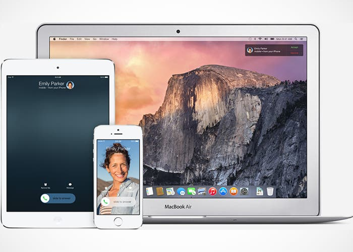Continuity, iOS y OS X van de la mano