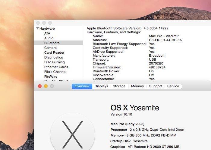 Uso de Handoff en Mac antiguos