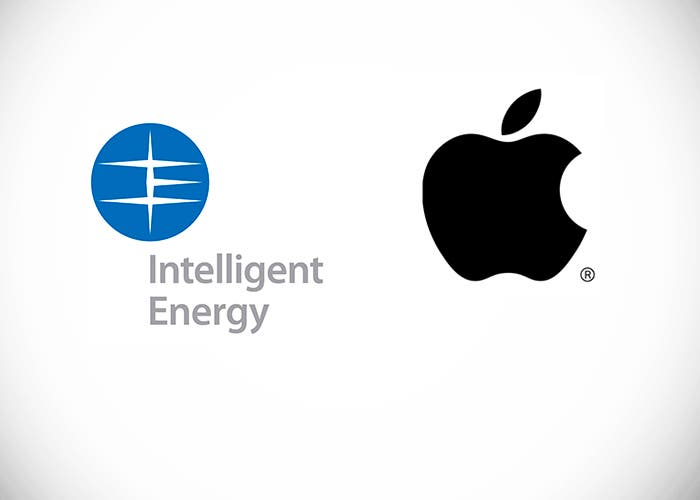 Logos de Apple e Intelligent Energy