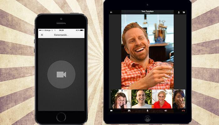 Capturas de Hangouts para iPhone y iPad