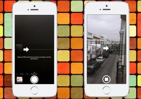 Cámara en modo panorámica en el iPhone 5s