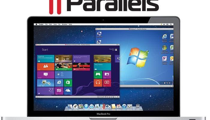 Máquina virtual con Parallels