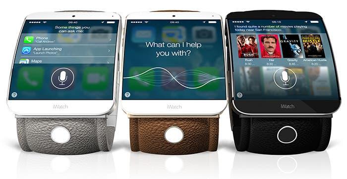 Posible diseño del iWatch de Apple