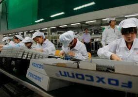 Trabajadores de Foxconn