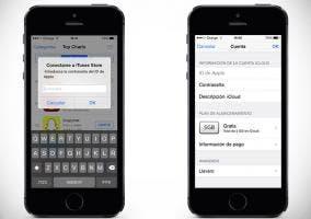 ID de Apple en iPhone 5s