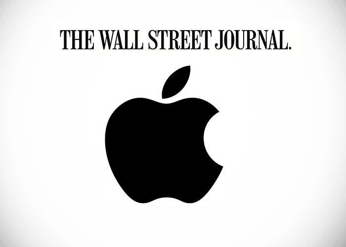 Logo de Apple y de The Wall Street Journal
