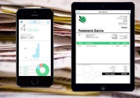 Crea tus facturas con tu iPhone y iPad