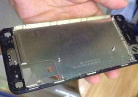 Filtración del supuesto marco del panel LCD del iPhone 6
