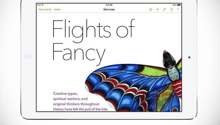 Pages en iPad