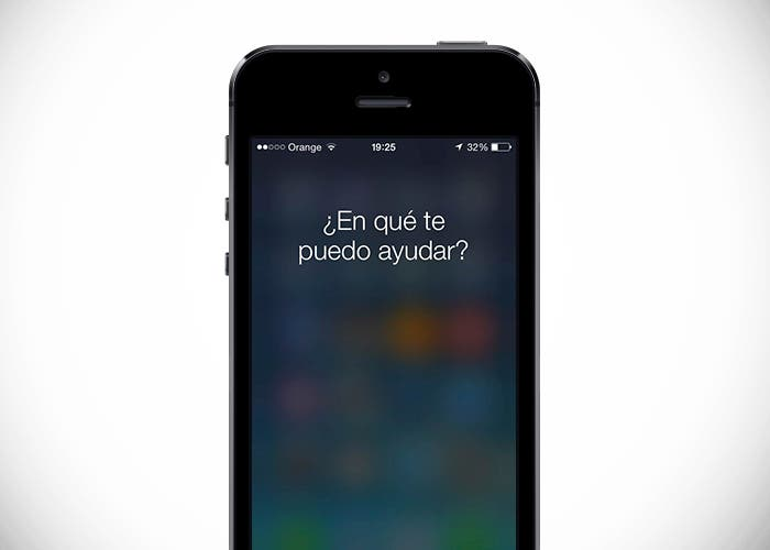 Siri en iPhone 5s