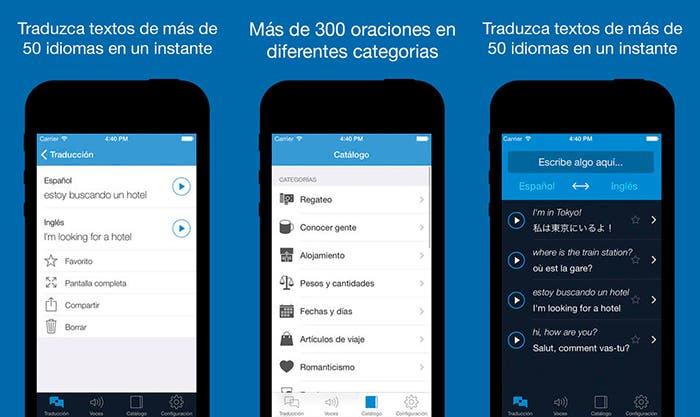 Aplicación de traducción Traductor Profesional