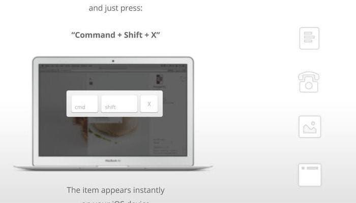 Portapapeles en iOS y OS X
