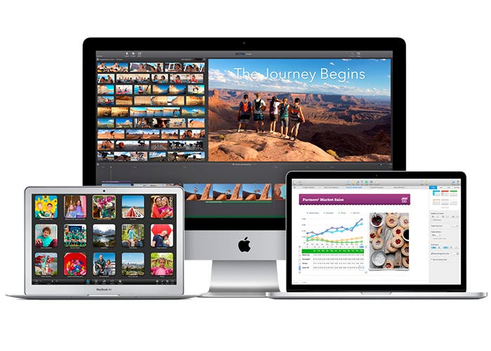 iMac, Macbook Air y Macbook Pro