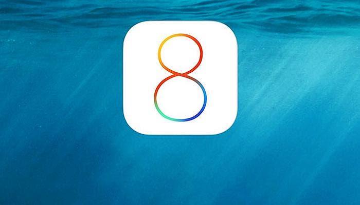 Logo de iOS 8