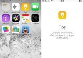 iOS 8 y la aplicación de Tips