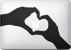 Nuevo anuncio Apple, Stickers