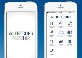AlertCops en iPhone 5s
