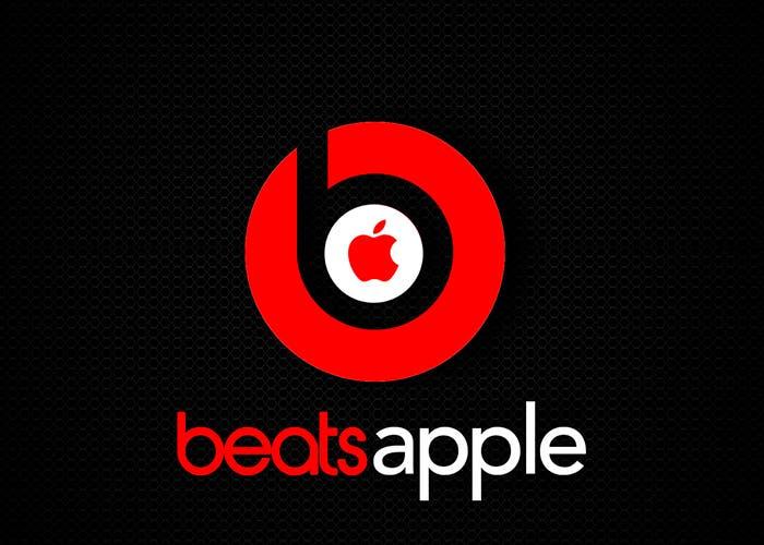 Logotipos de Beats y Apple