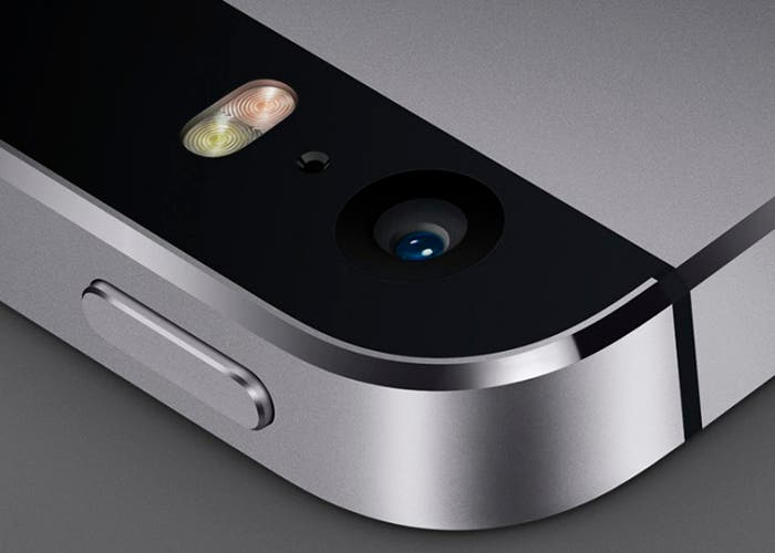 Cámara trasera del iPhone 5s