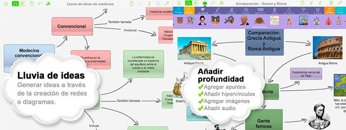 Capturas de Inspiration Maps para iPad