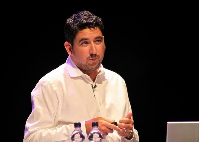 John Gruber en su actividad como conferenciante